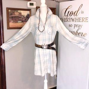 Anthropology Shirt Dress